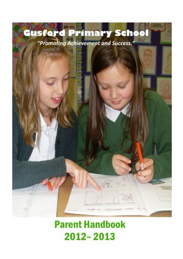 Parent Prospectus - Gusford Primary School