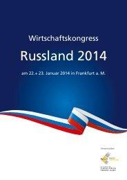 Wirtschaftskongress Russland 2014
