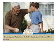 NC Supplemental Retirement Plans