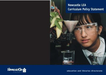 Newcastle's National Curriculum Policy Statement - Newcastle City ...