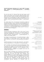 Statsforvaltningens udtalelse af 5. marts 2007 til Jesper Kiel ...