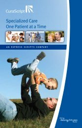 ESI Specialty Patient Brochure - Benefits Online