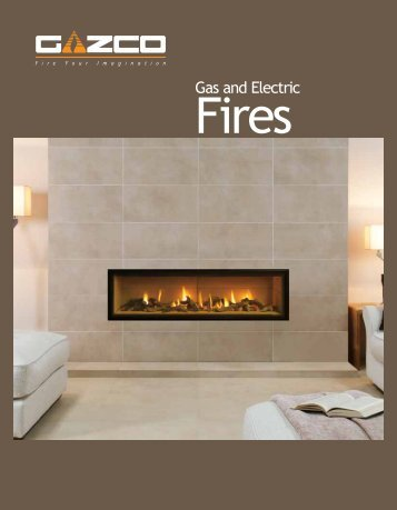 Gas and Electric Riva Cassette Fires - Oekotherm