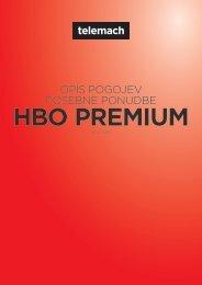 Paket HBO Premium - Telemach