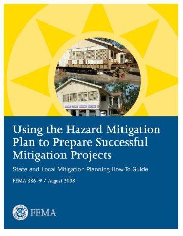 Using the Hazard Mitigation Plan to Prepare Successful Mitigation ...