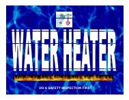 Part #5 Water Heaters - Gas Piping - Allsafe Home Inspection ...
