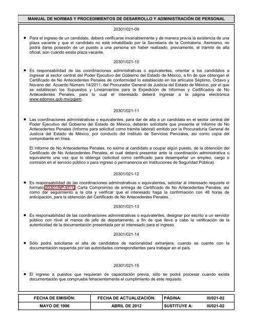 Manual De Normas Y Proced