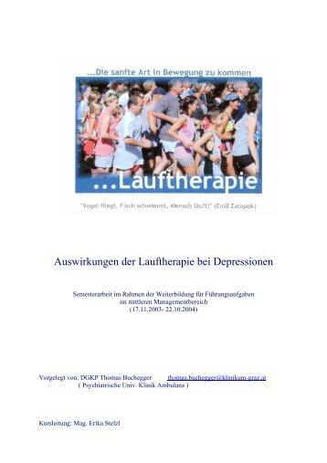 LAUF- UND BEWEGUNGSTHERAPIE