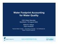 Dr. Maite Martinez Aldaya - UN CEO Water Mandate