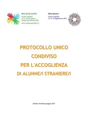 protocollo unico condiviso - IIS-Newton