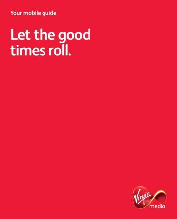 Download Pay Monthly pack - Virgin Media
