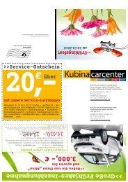 3. 000,- € - Das Smart-Center Kubina carcenter in Köln und in ...