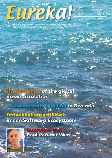 Interview met Paul van der Werf The dynamics of the global ocean ...
