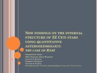 new findings on the internal structure of zz ceti stars using ...