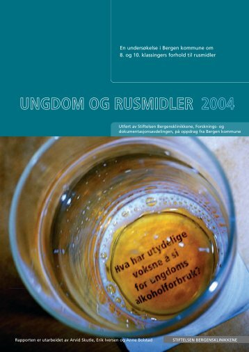 ungdom og rusmidler 2004 - KoRus Bergen
