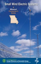 Small Wind Electric Systems: A Missouri Consumer's Guide