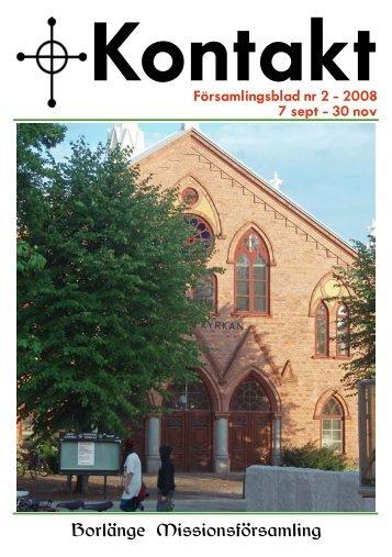 Borlänge Missionsförsamling - Svenska Missionskyrkan