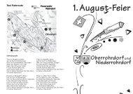 1.August-Feier - Reuss24.ch