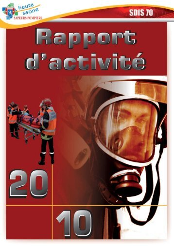 rapport d'activité 2010.indd - Service Départemental d'Incendie et de ...
