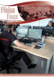 Pleins feux n°38 - Service Départemental d'Incendie et de Secours ...