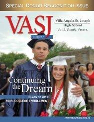WINTER/spRINg 2012-13 - Villa Angela-St. Joseph High School