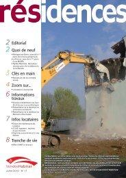 Juillet 2010 - numéro 17.pdf - Vendée Habitat