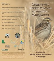 mid-contract management - Forest and Wildlife Research Center ...
