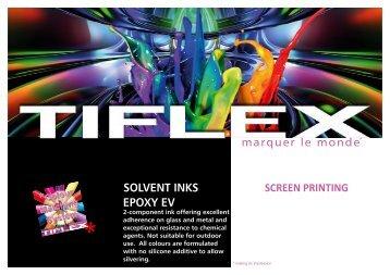 SolvENT INkS EPoxy Ev - Tiflex