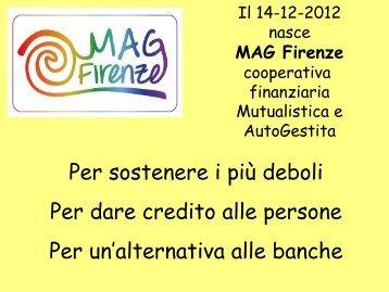 Mag Firenze Presentazione