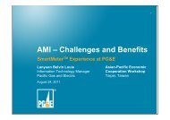AMI – Challenges and Benefits - ESCI KSP