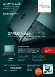 value4you.ch ESPRIMO Mobile