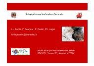 3. Intoxication par les fumées d'incendie - Vesoul 2008 - Service ...