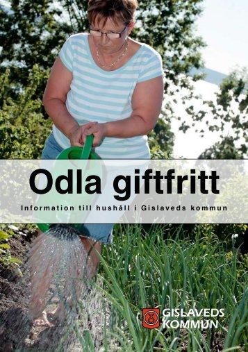 Broschyr-odla-giftfritt - Gislaveds kommun