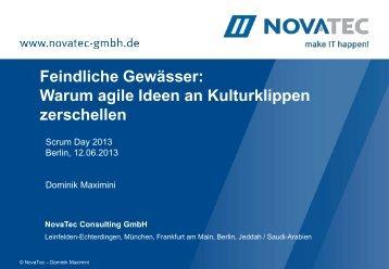 Scrum Day (Juni 2013) - NovaTec GmbH