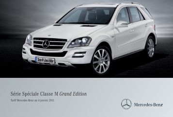 Grand Edition - Mercedes-Benz France