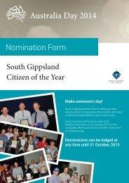 Australia_Nomination_Final_HQ.pdf - South Gippsland Shire Council