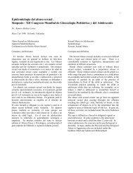 Epidemiologia del abuso sexual. Simposio-XII Congreso ... - CEMERA