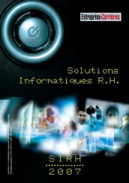 Informatiques R.H. Solutions SIRH 2007 - Wk-rh