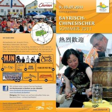 bayrisch- chinesischer Sommer 2011 - Magenta4.com