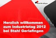 Ansprache Lukas Stuber_COO Stahl Gerlafingen AG - INVESO