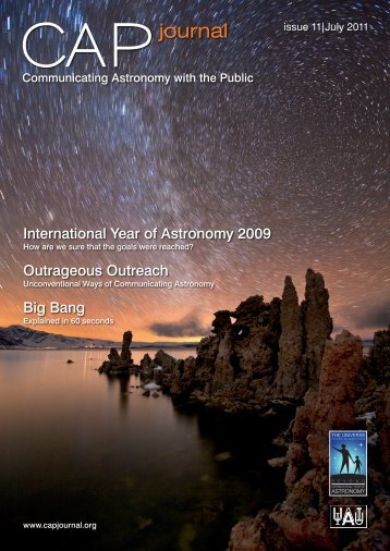 Issue 11 - July 2011 - Communicating Astronomy with the Public ...