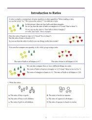 Math Mammoth Ratios & Proportions & Problem Solving