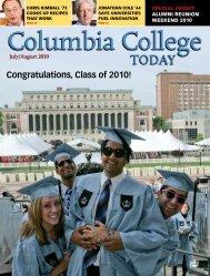 Congratulations, Class of 2010! - Columbia College - Columbia ...