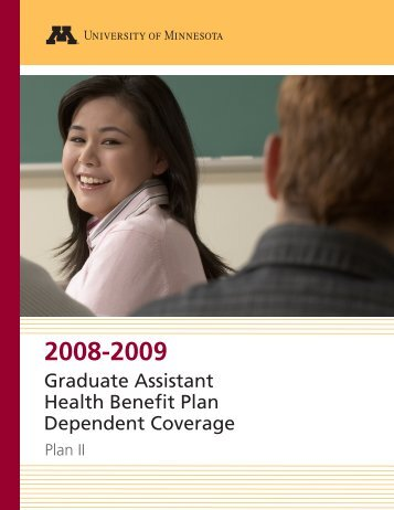 Graduate Assistant Health Benefit Plan Dependent Coverage