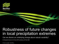 Robustness of future changes in local precipitation extremes