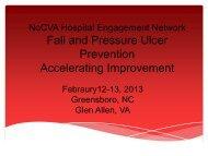 NoCVA Falls and Pressure Ulcer Prevention Accelerating ...