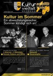 Kultur im Sommer - Weyregg am Attersee