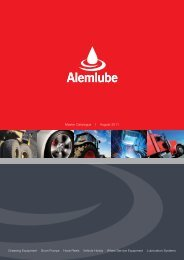 Master Catalogue-Automotive Fluid Exchange Fume ... - Alemlube