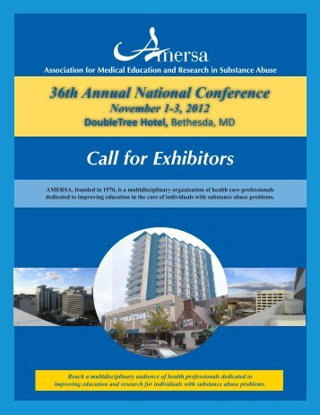 Download the Exhibitor Invitation and Application (PDF) - AMERSA
