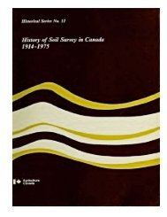 History of Soil Survey in Canada, 1914 - Ontario Agri-Environmental ...